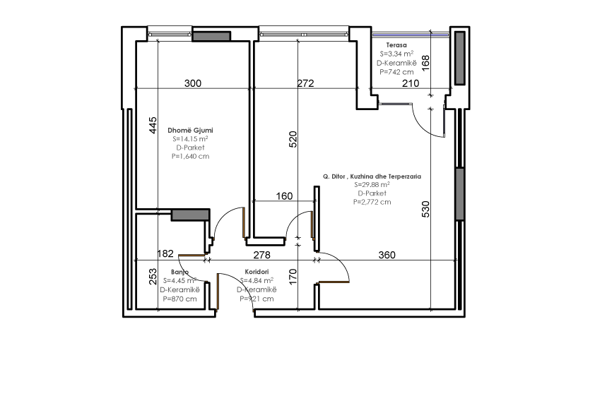Planimetria teknike